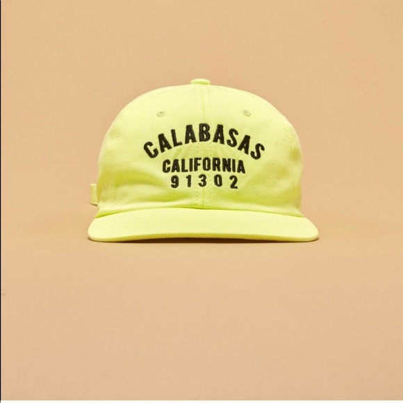 a3334de6099 ... save off ff17c 1c8a1 Yeezy Calabasas Collection Yellow Hat Authentic ...